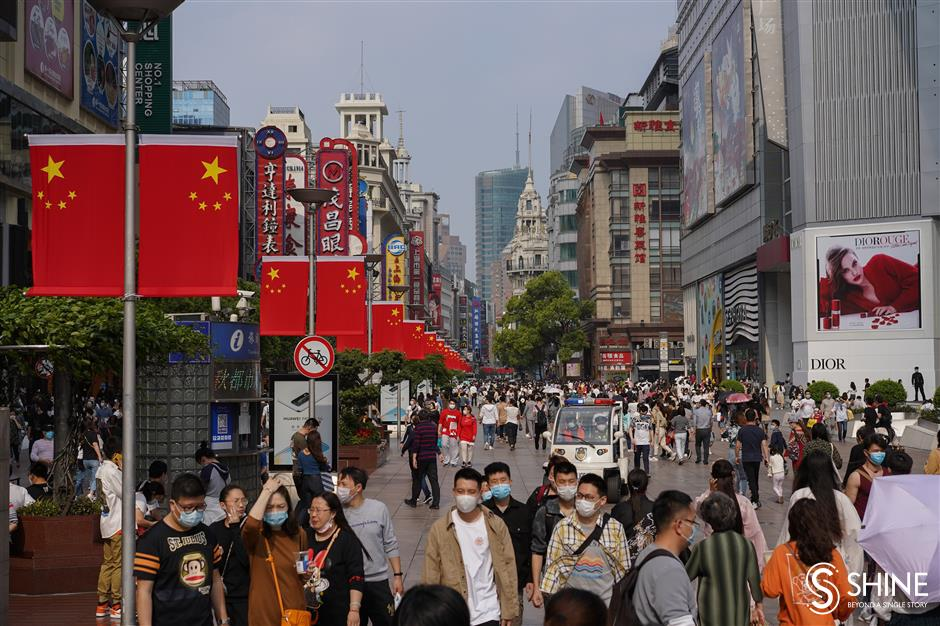Extended Nanjing Road Pedestrian Mall to open in September