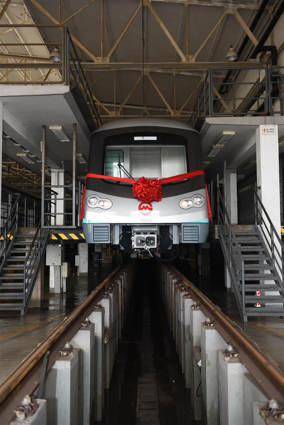 City's 6,000th Metro train ready for service