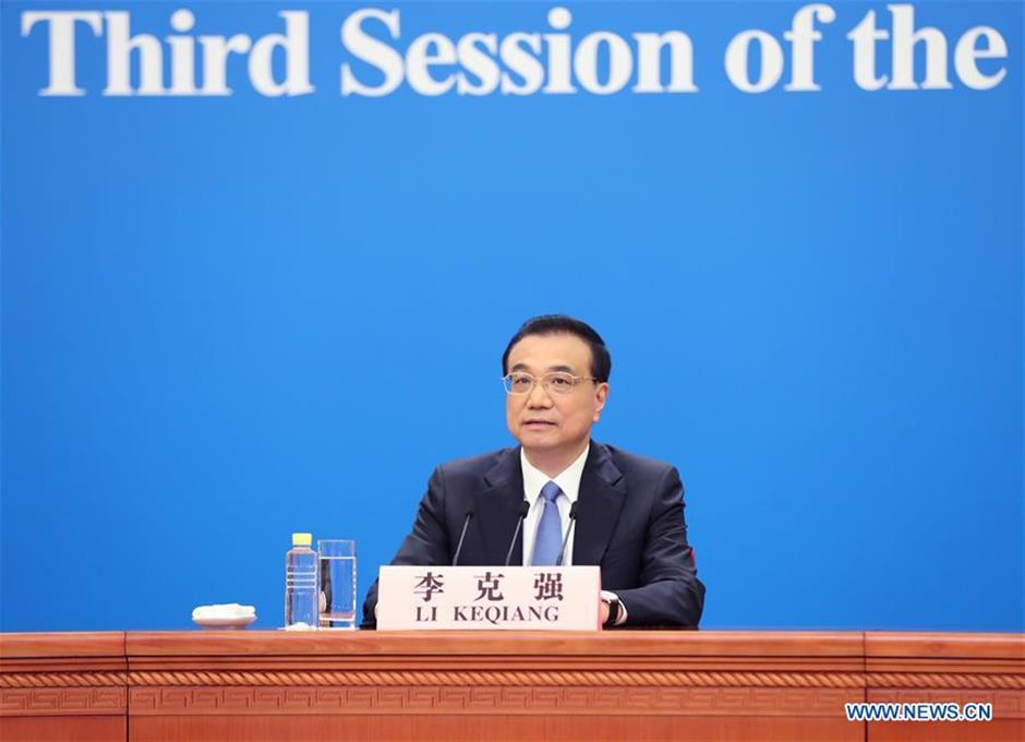 Premier Lisays China expects positive GDP growth