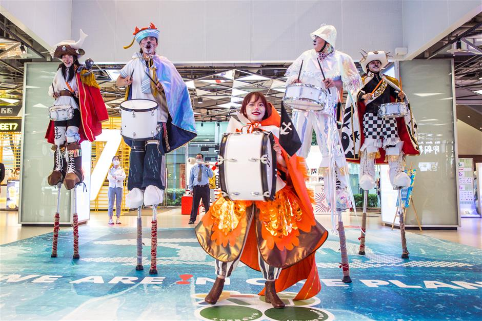 Art festival in Jing'an celebrates Children's Day