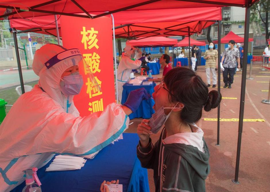 Wuhan screens nearly 10 million people in citywide COVID-19 tests