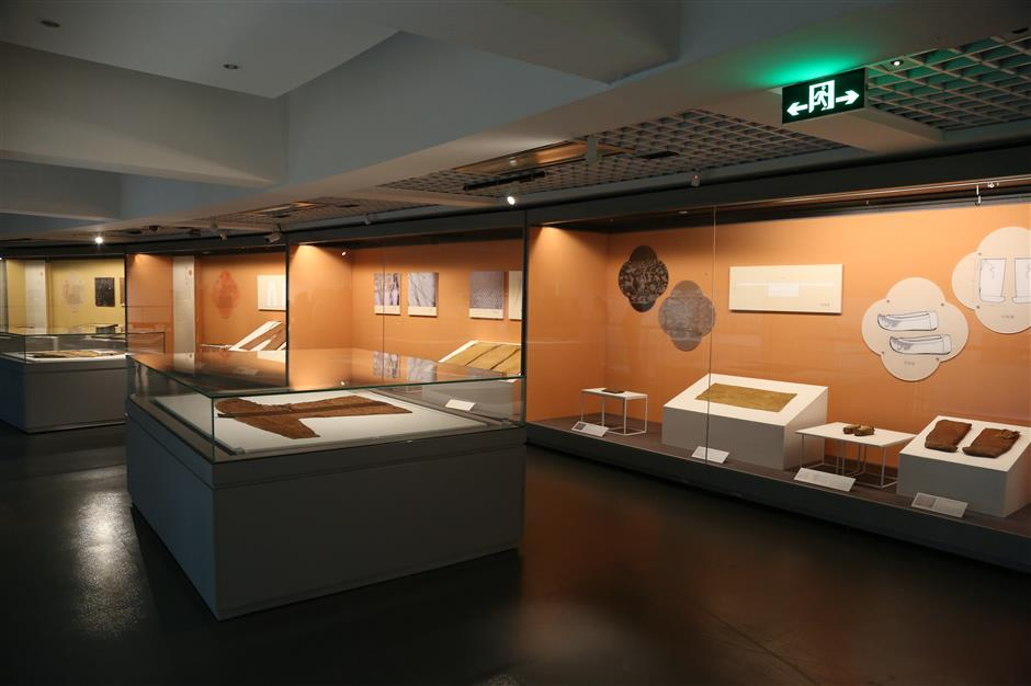Museum displays clothes for the afterlife