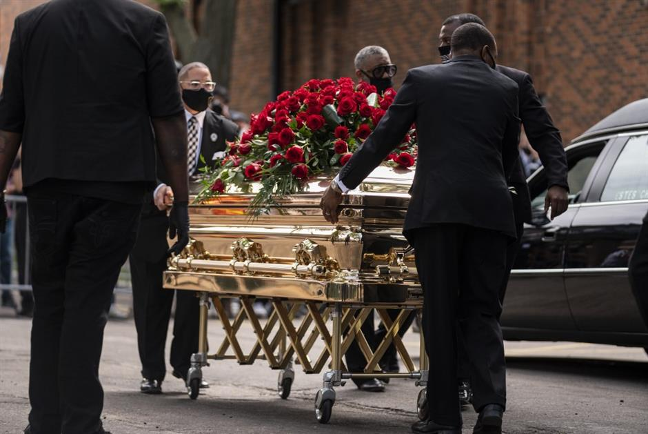 'You changed the world George,' rights leader tells Floyd memorial