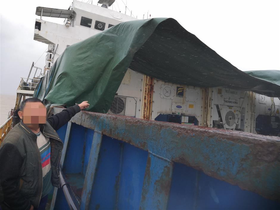 Coast Guard seizes ship smuggling goods and garbage