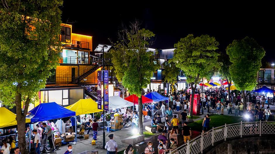 Baoshan celebrates its unique rural culture with night markets