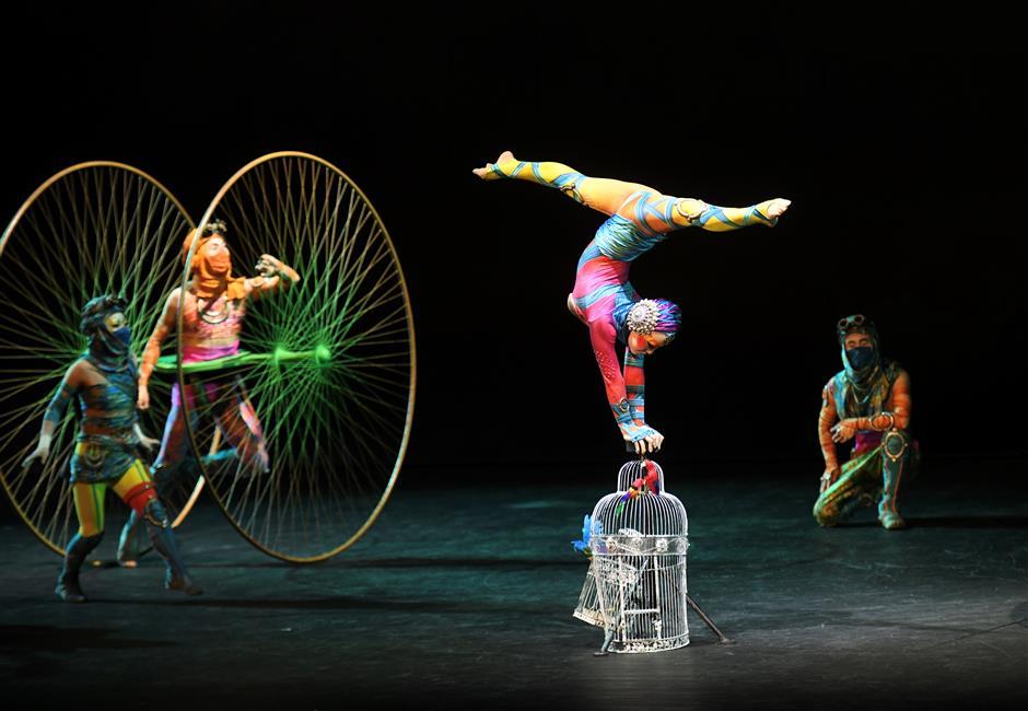 Cirque du Soleil's Hangzhou show reopens