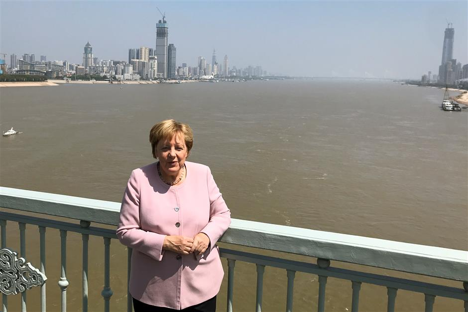 Wuhan trip shaped Merkel's virus response