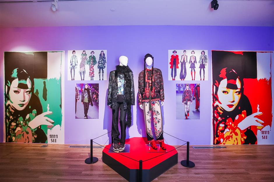 Show reviews designer Anna Sui's iconic fashion