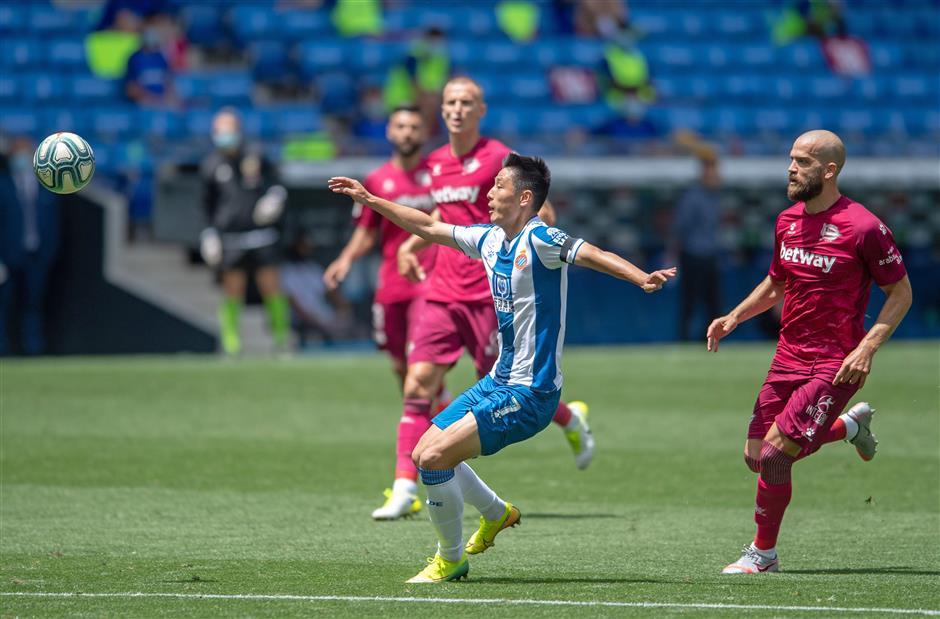 'Decisive' Wu leads Espanyol to win after coronavirus recovery