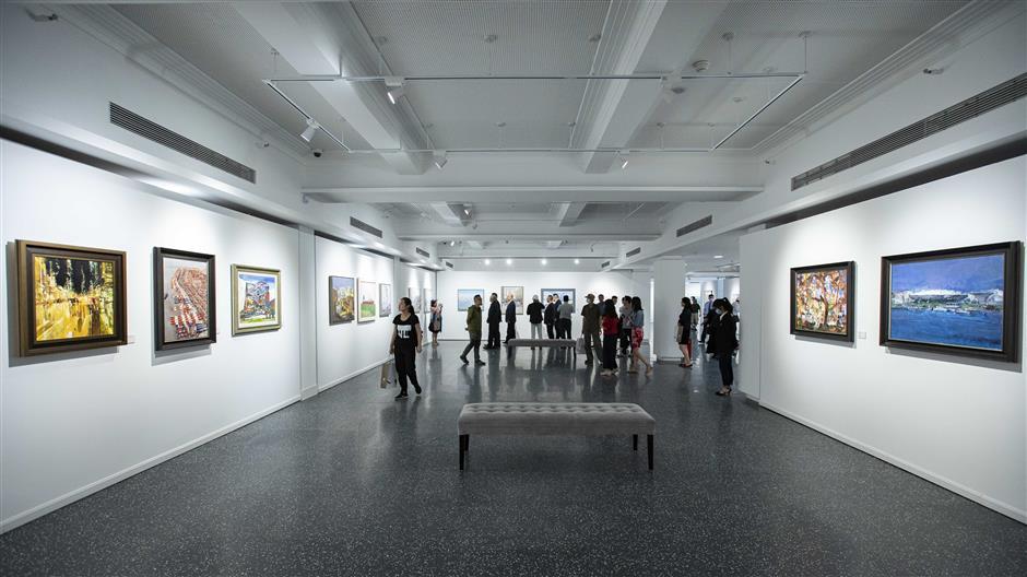 Exhibition celebrates beauty of Huangpu riverside