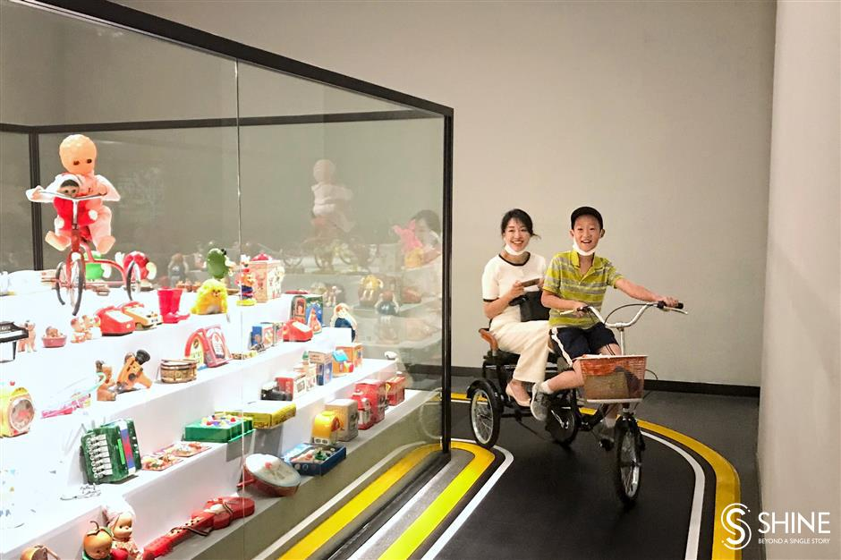 Playful exhibition looks at childhood through the ages