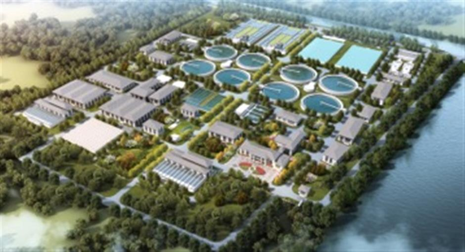 Key Lingang area water projects initiated