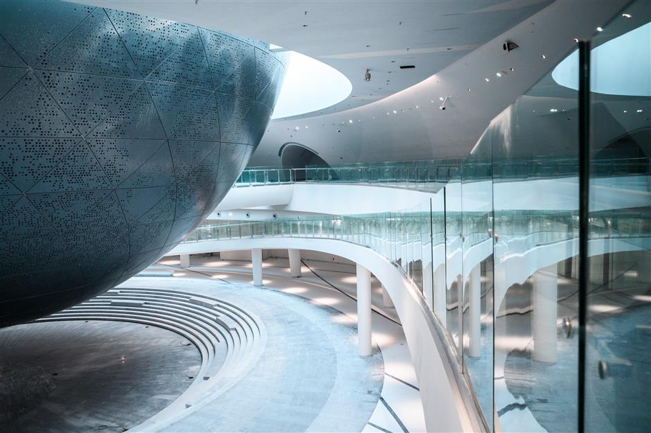 Construction completed on Shanghai Planetarium