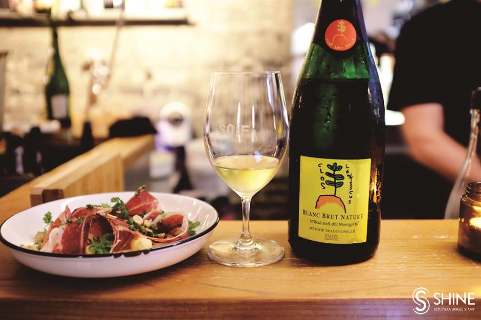Tasty French plates, natural wine and fun