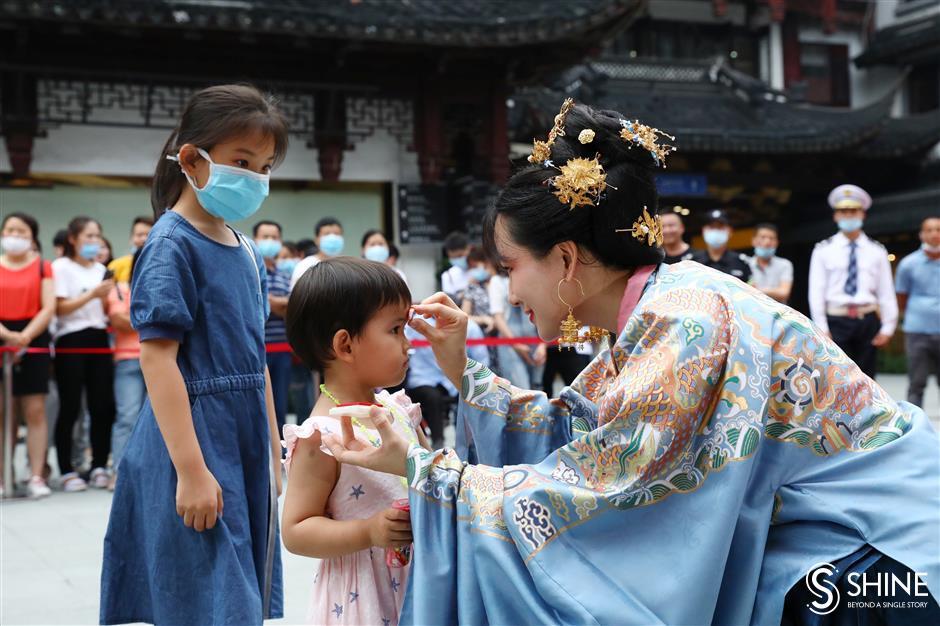 Yuyuan celebrates the Dragon Boat Festival