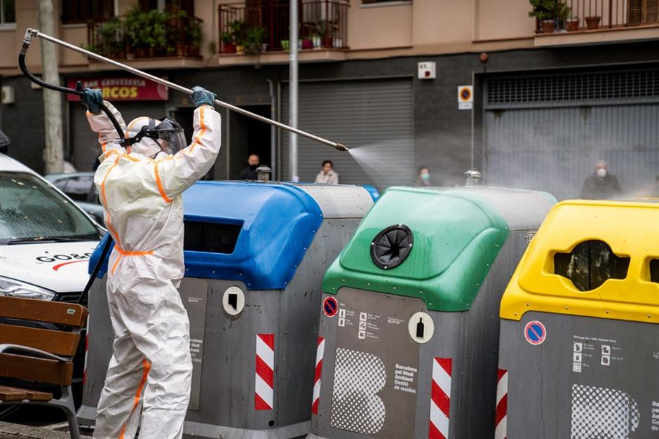 Spain's top researchers discover coronavirus in waste water collected on March 12, 2019