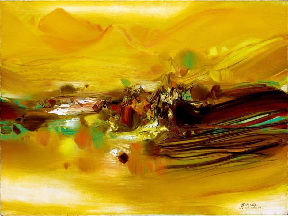 Showcasing three generations masters of canvas