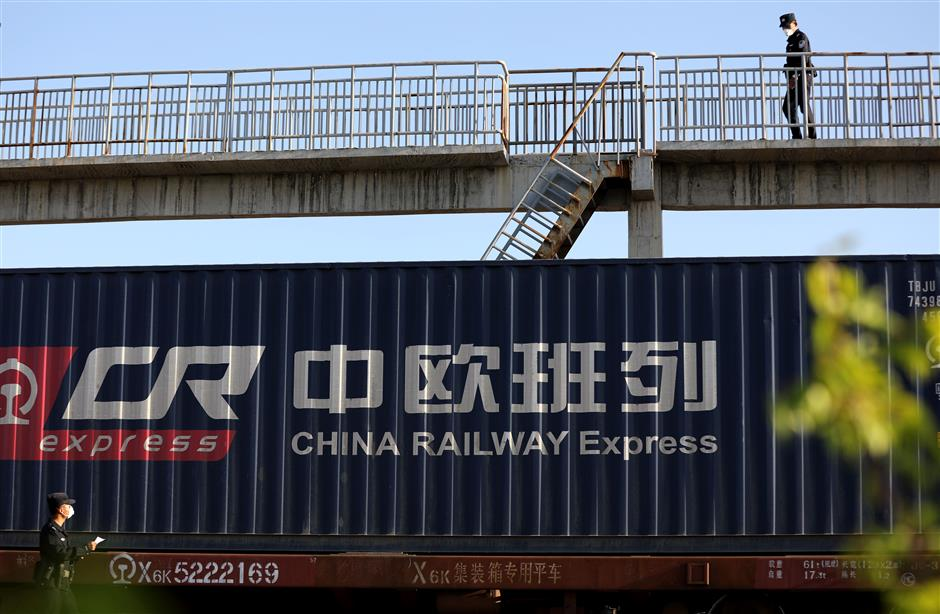 Railway freight express puts China-EU cooperation amid pandemic on fast track
