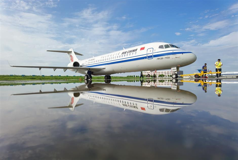 Up, up and away for domestic regional jet