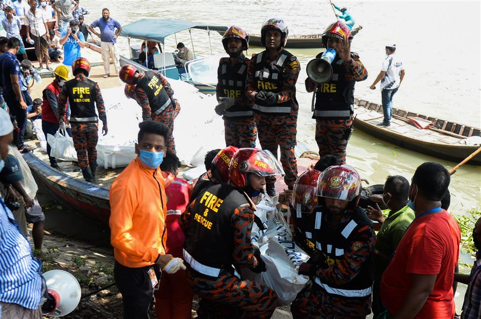 At least 30 perish in Bangladesh ferry accident