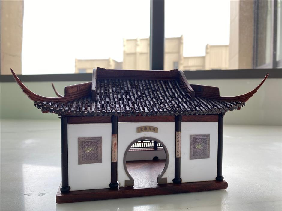 Pavilions in miniature from a master maker
