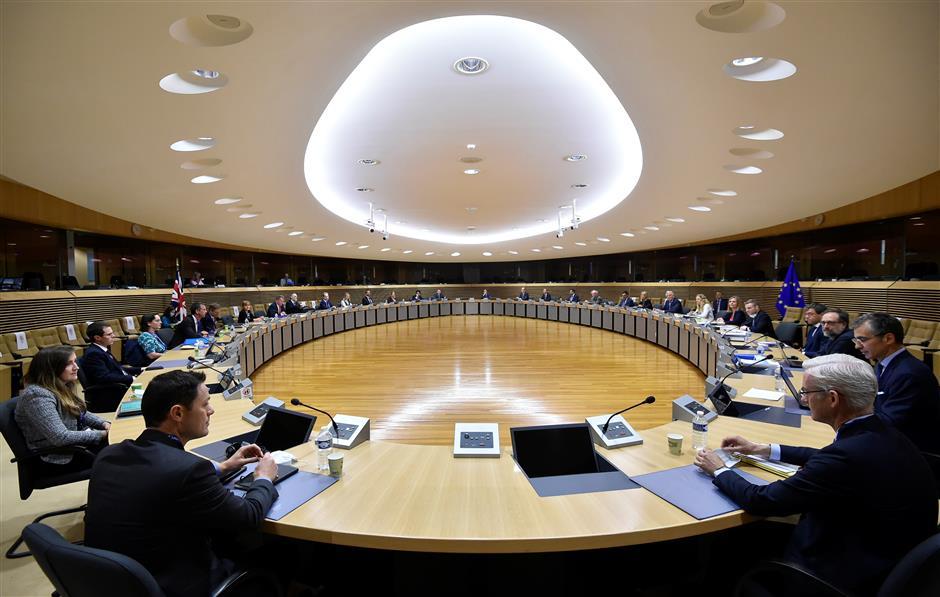 EU talks intensify as negotiators meet to discuss post-Brexit deal