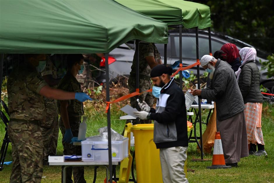 UK reimposes lockdown on virus-hit city of Leicester