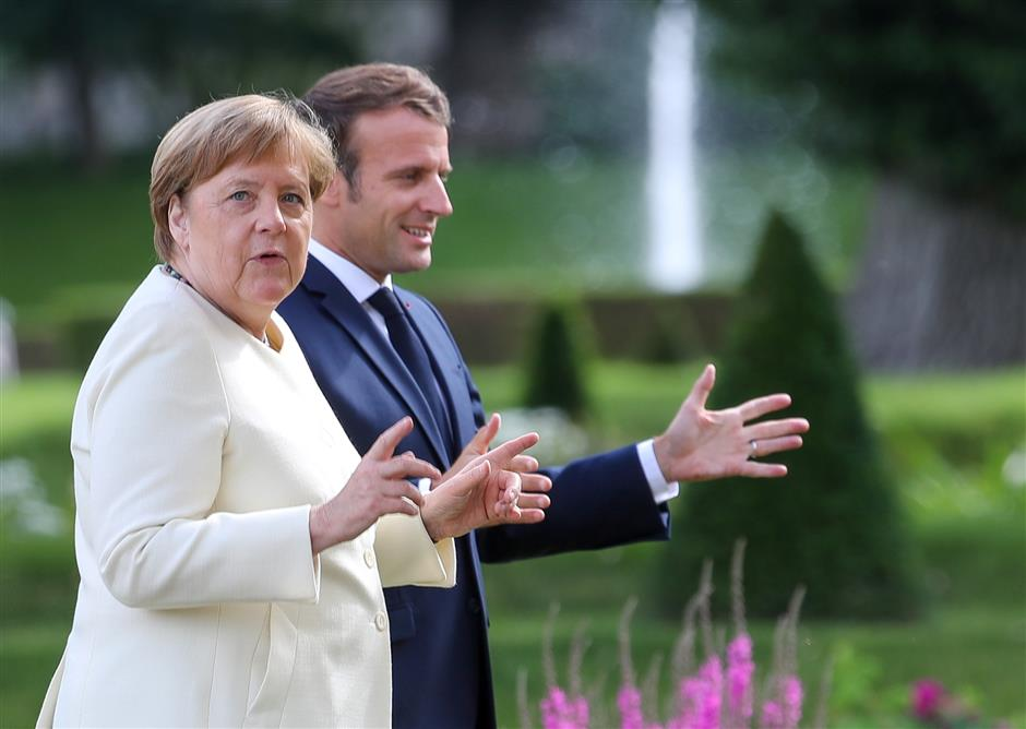Germany takes EU presidency at a crucial juncture
