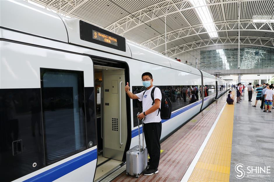 New railway adds major convenience to regional travel