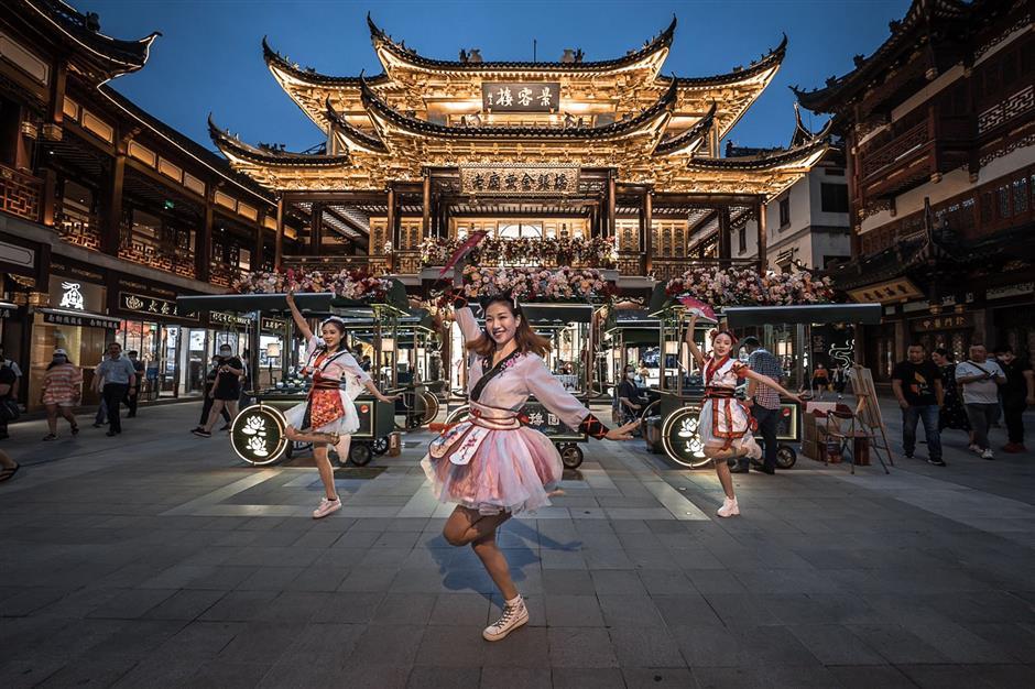 Yuyuan Garden Malls heading back in time