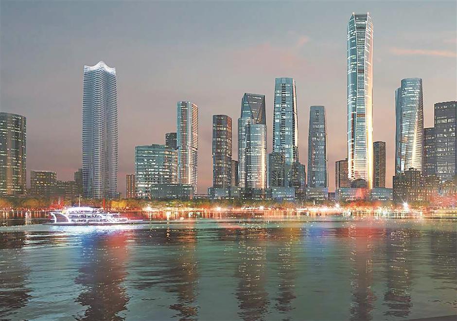 North Bund to become city's next Lujiazui