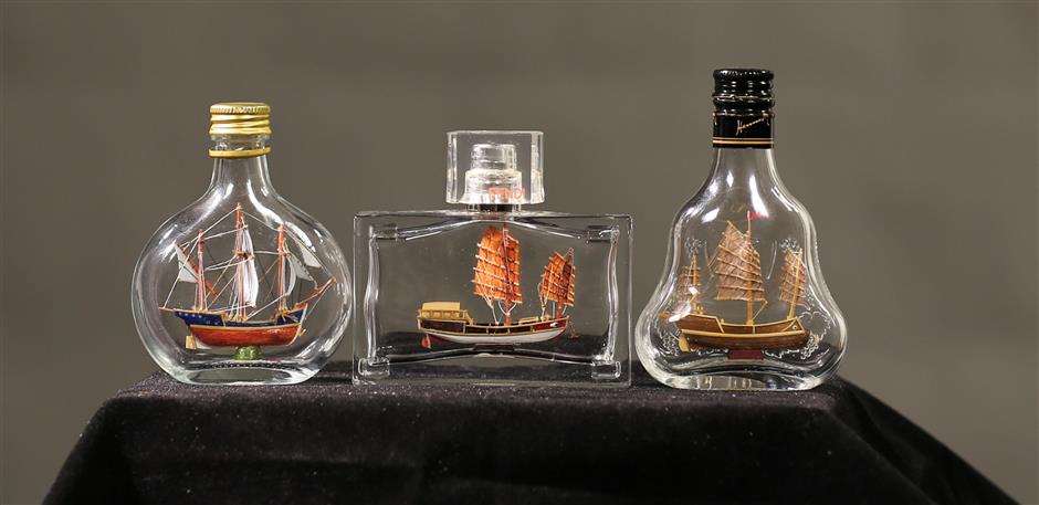 Ships inside bottles: How do they do that?