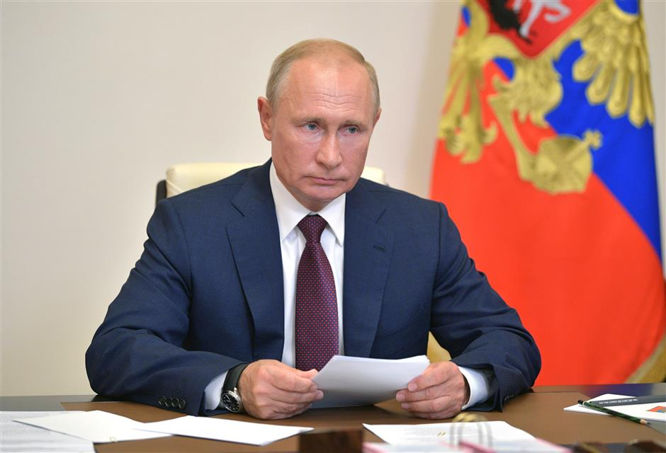 Putin signs decree to publish amended Russian constitution