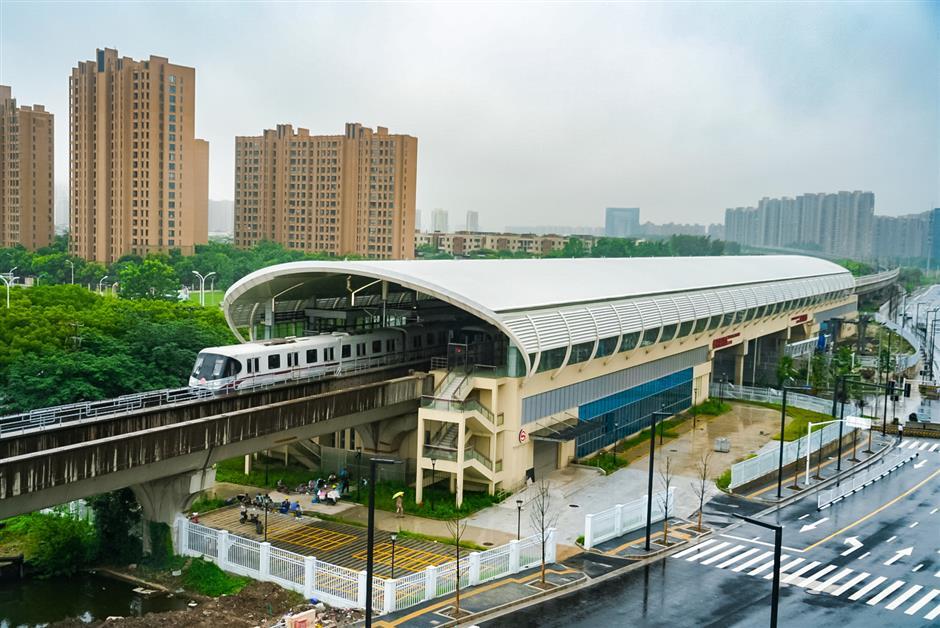 New station on Metro Line 11 advances toward opening