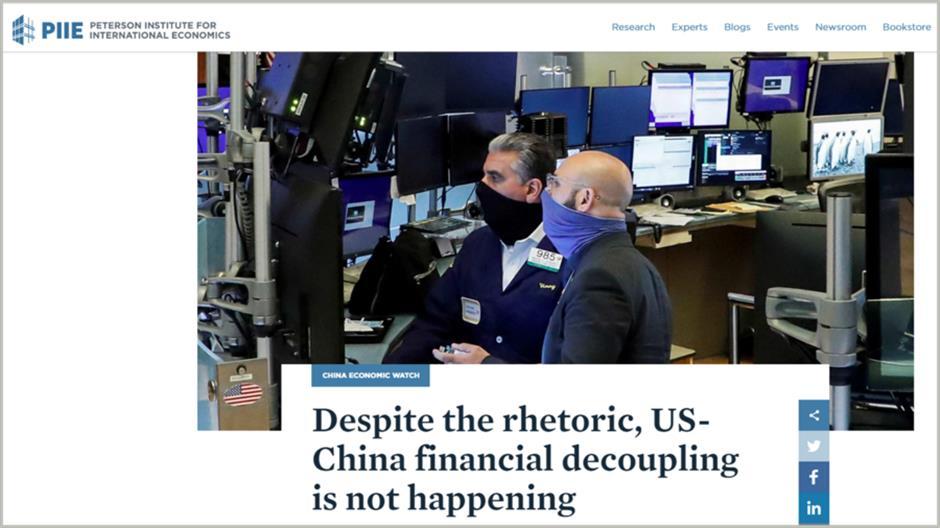 US-China financial decoupling 'not happening' despite rhetoric: veteran China watcher