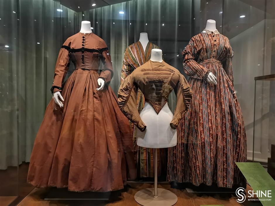 Silk museum showcases fashion through the ages
