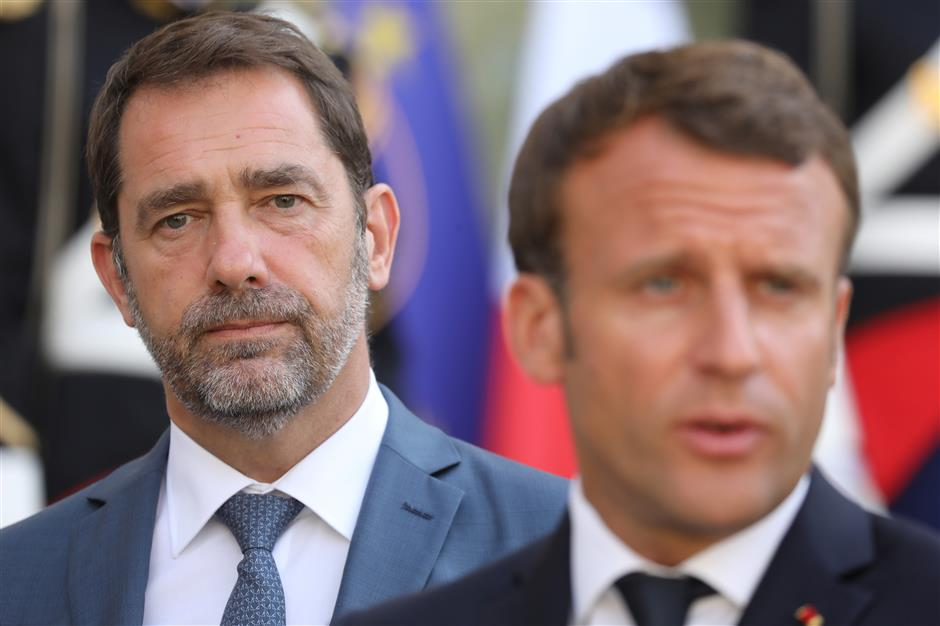 Macron picks new interior minister in Cabinet revamp