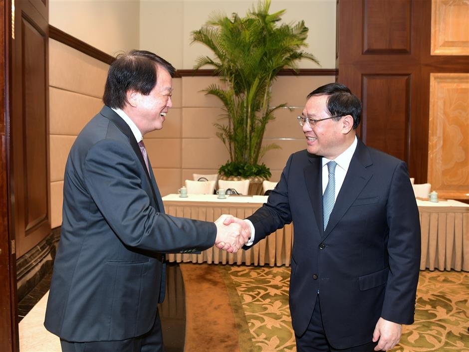 Party Secretary Li Qiang meets Wilmar CEO