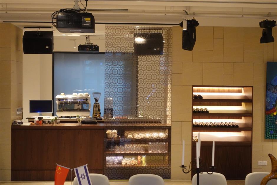 Israeli salon open at Putuo innovation hub