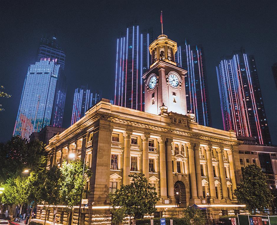 Look familiar? A town on the Yangtze that has hints of Shanghai