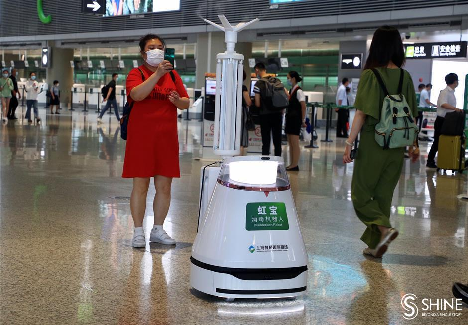 Hongqiao airport back on track, with prevention measures