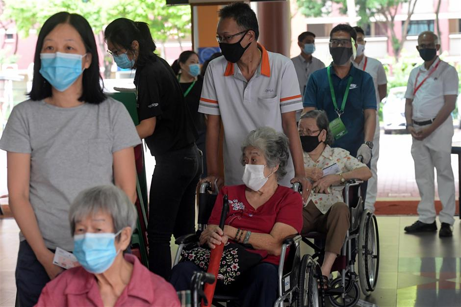 Voting begins in Singapore general election