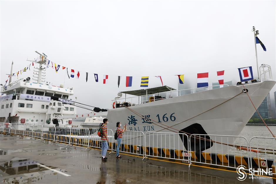 Shanghai celebrates Maritime Day with great growth