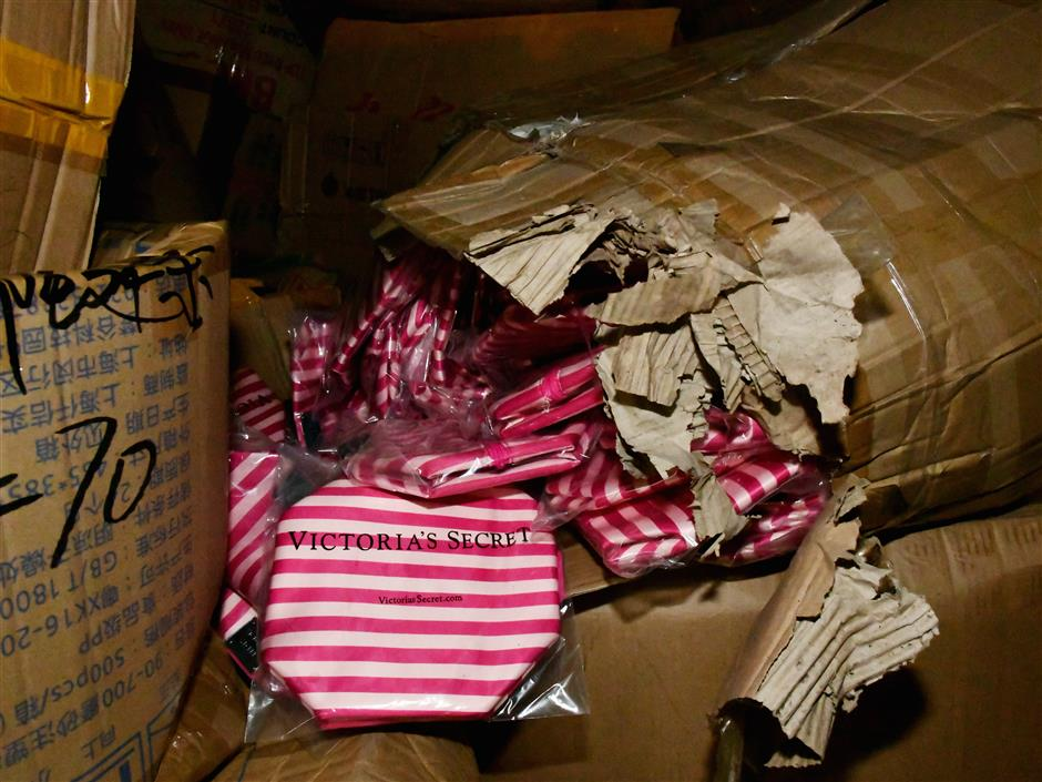 Suspected counterfeiters taken down by police