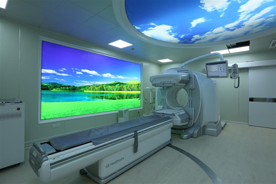 South Pudong hospital offers nuclear medicine services