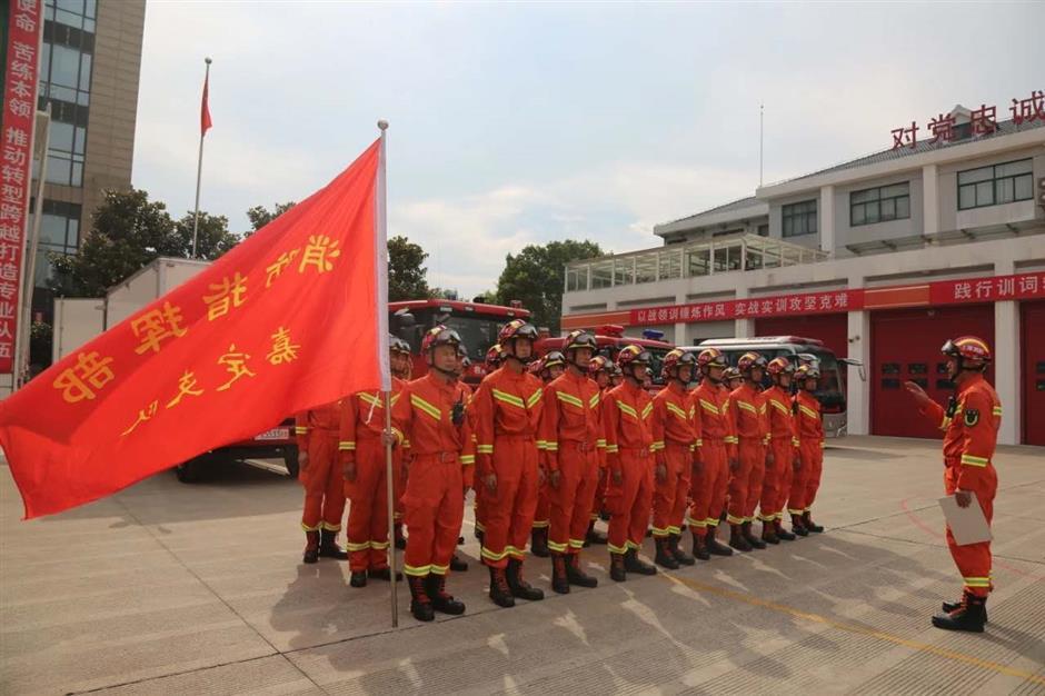 Cityfirefighters to battle Anhuifloods