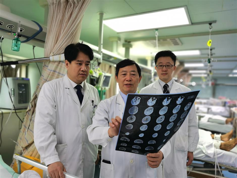 Chinese researchers complete large-scale brain injury study
