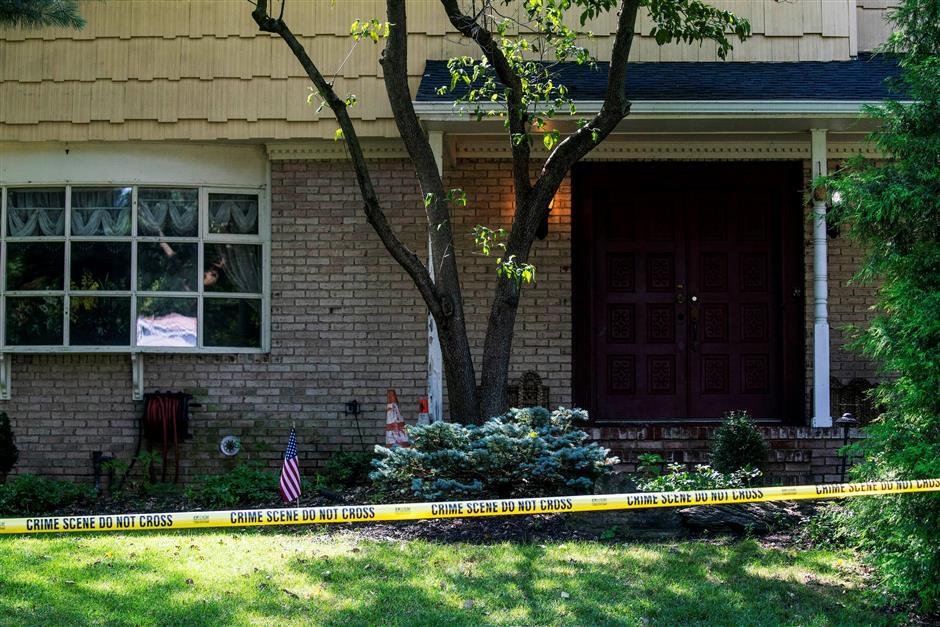 US judge's son killed by gunman at family home