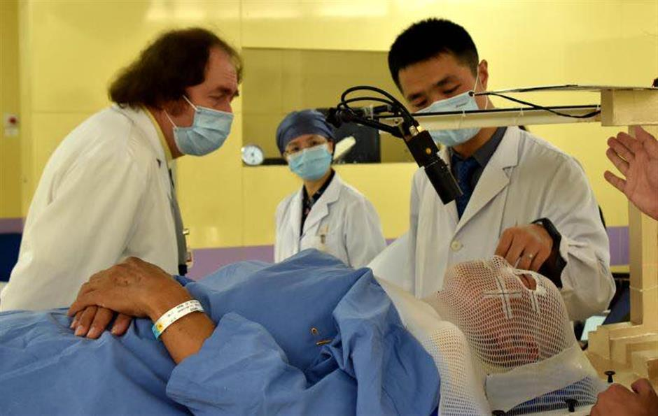 City eye cancer therapy a first for China