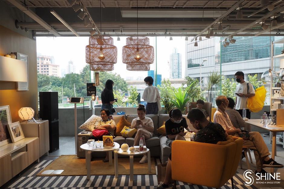 IKEA opens new store in Jing'an District